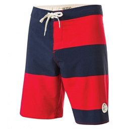 O'Neill Retrofreak Basis Mens Board Shorts, Cardinal Red, 256