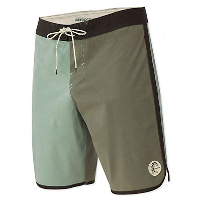 O'Neill Retrofreak Scallop Mens Board Shorts, Blue, viewer