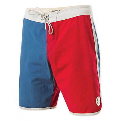 O'Neill Retrofreak Scallop Boardshorts, Blue, viewer