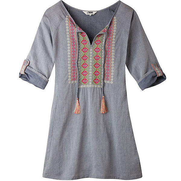 Mountain Khakis Sunnyside Tunic Womens Shirt, Clear Blue, 600