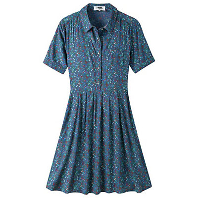 Mountain Khakis Wildflower Dress, Clear Blue, viewer