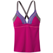 Prana Atla Tankini Bathing Suit Top, Rich Fuchsia, medium