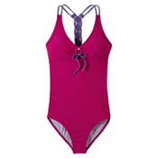 Prana Inez One Piece Swimsuit, Rich Fuchsia, medium