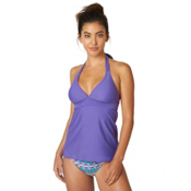 Prana Lahari Tankini Bathing Suit Top, Ultra Violet, medium