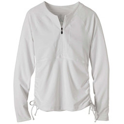 Prana Arwyn Sun Top Womens Rash Guard, White, 256