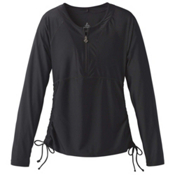 Prana Arwyn Sun Top Womens Rash Guard, Black, medium