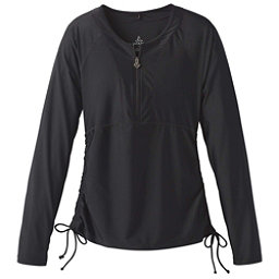 Prana Arwyn Sun Top Womens Rash Guard, Black, 256