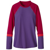 Prana Lorelei Sun Top Womens Rash Guard, Ultra Violet, medium