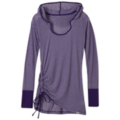 Prana Vinyasa Womens Hoodie, Ultra Violet, medium