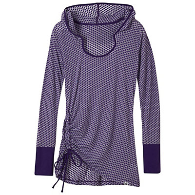 Prana Vinyasa Womens Hoodie, Ultra Violet, viewer