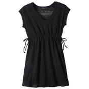 Prana Elliot Dress Bathing Suit Cover Up, Black, medium