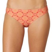 Prana Lani Bathing Suit Bottoms, Neon Orange Jasmine, medium