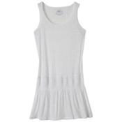 Prana Zadie Dress Bathing Suit Cover Up, White, medium