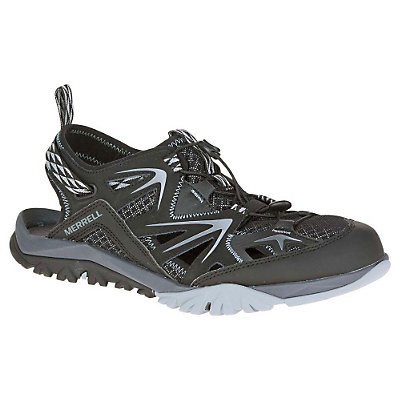 Merrell Capra Rapid Sieve Mens Watershoes, Black, viewer