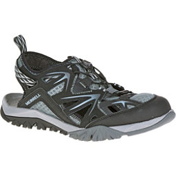 Merrell Capra Rapid Sieve Womens Watershoes, Black, 256