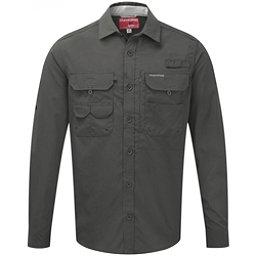Craghoppers NosiLife Long Sleeved Angler Mens Shirt, Dark Khaki, 256