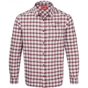 Craghoppers NosiLife Tristan Long Sleeved Mens Shirt, Brick Red Check, medium