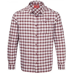 Craghoppers NosiLife Tristan Long Sleeved Mens Shirt, Brick Red Check, 256