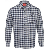 Craghoppers NosiLife Tristan Long Sleeved Shirt, Dark Navy Check, medium