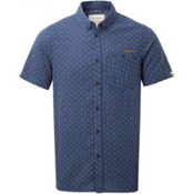Craghoppers Edmond Short Sleeved Shirt, Dusk Blue Dobby, medium