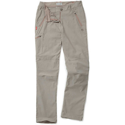 Craghoppers NosiLife Pro Short Womens Trousers, Mushroom, viewer