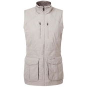 Craghoppers NAT GEO NosiLife Jiminez Gilet Womens Vest, Mushroom, medium