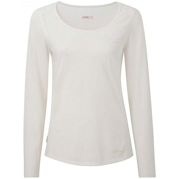 Craghoppers NosiLife Long Sleeved Tee Womens Shirt, Sea Salt, 600