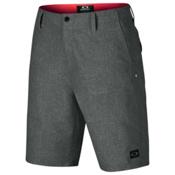 Oakley Overdrive Hybrid Mens Board Shorts, Jet Black, medium