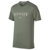 Oakley Wild West Mens T-Shirt, Worn Olive, medium