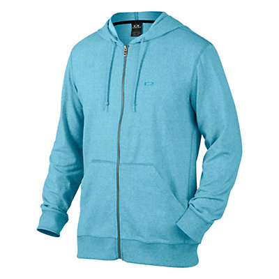 Oakley Pennycross Full Zip Hoodie, Pacific Blue Light Heather, viewer
