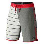 Oakley The Cave Mens Board Shorts, Red Line, medium