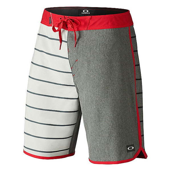 Oakley The Cave Mens Board Shorts, Red Line, 600