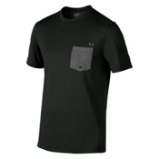 Oakley Voyage Cool Out SS Mens Rash Guard, Jet Black, medium