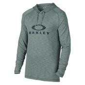 Oakley Sun Hoodie Mens Rash Guard, Light Grey, medium
