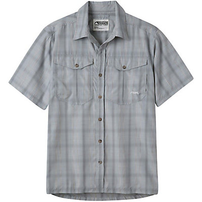 Mountain Khakis Equatorial Short Sleeve Mens Shirt, City Block, viewer