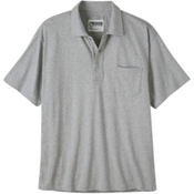 Mountain Khakis Patio Polo Shirt, Heather Grey, medium