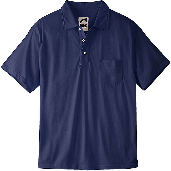 Mountain Khakis Patio Polo Mens Shirt, Navy, 600