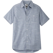 Mountain Khakis Mountain Chambray Mens Shirt, Bahama Blue, medium