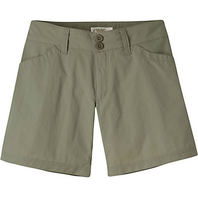 Mountain Khakis Equatorial Womens Shorts, Olive Drab, viewer