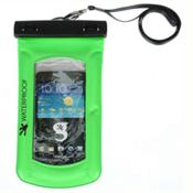 Geckobrands Waterproof Submerge Case Dry Bag 2017, Bright Green, medium