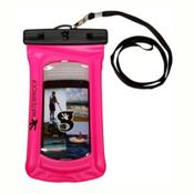 Geckobrands Waterproof Submerge Case Dry Bag 2017, Bright Pink, medium