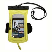 Geckobrands Waterproof Submerge Audio Case 2017, Bright Green, medium