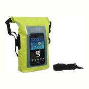 Geckobrands Waterproof Phone Tote Dry Bag 2017, Bright Green, medium