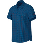 Mammut Asko Mens Shirt, Dark Cyan-Marine, medium
