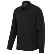 Mammut Tempest Long Sleeve Mens Shirt, Graphite, medium
