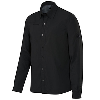 Mammut Tempest Long Sleeve Mens Shirt, Graphite, viewer