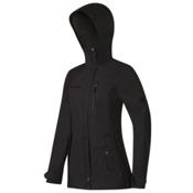 Mammut Trovat Guide SO Hooded Womens Jacket, Graphite, medium