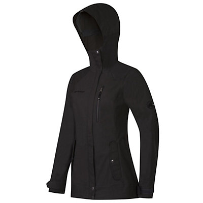 Mammut Trovat Guide SO Hooded Womens Jacket, Graphite, viewer