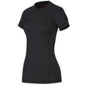 Mammut Trovat Pro Womens T-Shirt, Graphite Melange, medium