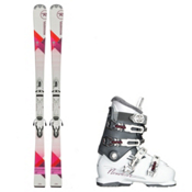 Rossignol Unique, and Nordica NXT N6 Womens Ski Package 2016, , medium